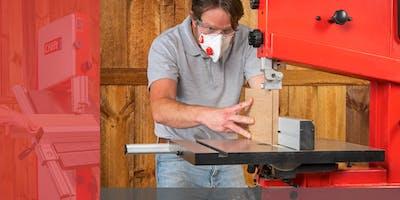 Basingstoke Store Craft Bandsaws Launch Bandsaw Clinic