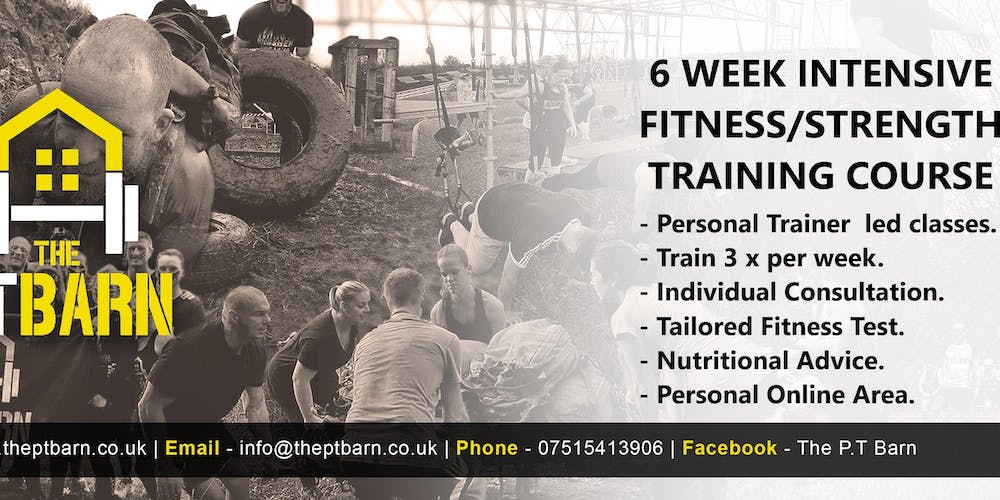 6 Week Intensive Fitness/Strength Training Courses - Evening