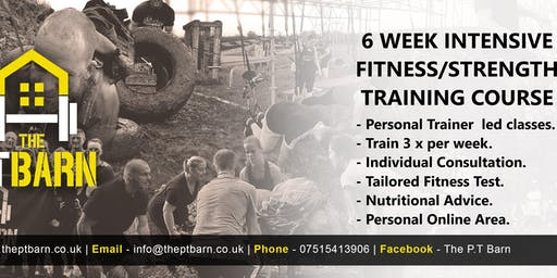 6 Week Intensive Fitness/Strength Training Courses - Evening Basildon/Stanford-Le-Hope area