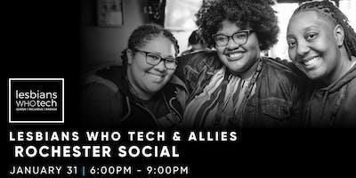 Lesbians Who Tech & Allies Rochester Social at Skylark