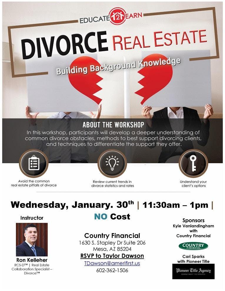 Intro To Divorce Real Estate Part 1 - Mesa