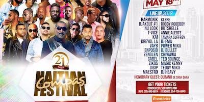 21ST ANNUAL HAITIAN COMPAS FESTIVAL, SATURDAY MAY 18TH,2019