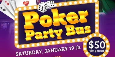 Shreveport PARTY BUS to POKER NIGHT
