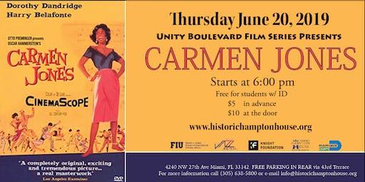 Unity Boulevard Film Series Presents CARMEN JONES (1954)