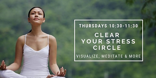 NJ Women's Guided Clearing Meditation Circle with Lois