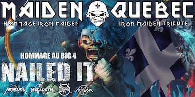 MAIDEN QUEBEC // nailed it