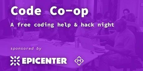 Code Co-op   Memphis - A free coding help & hack night tickets
