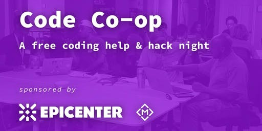 Code Co-op | Memphis - A free coding help & hack night