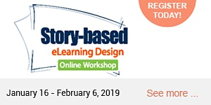 Story-Based eLearning Design Online Workshop 2019...