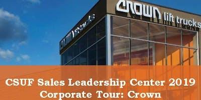 Crown Equipment Corporate Tour (CSUF Sales Leadership Center)