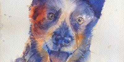 Brilliant Pets and Animals in Watercolor with Kevin Kuhne