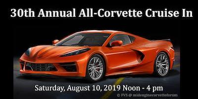 30th Annual All-Corvette Cruise In (Save the Date)