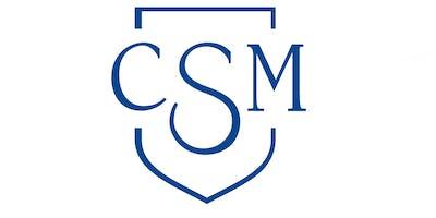 WSTB Physical Agility Exam at CSM: 11/19/2019