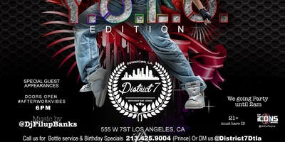 Fusion Friday's @District 7 (Formally Seven Bar Lounge)