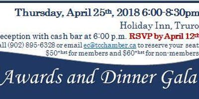 Truro & Colchester Chamber of Commerce Annual Dinner & Awards Gala