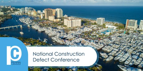 National Construction Defect Conference 2019 tickets