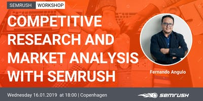 Meet SEMrush in Copenhagen for a Digital Marketing Workshop.