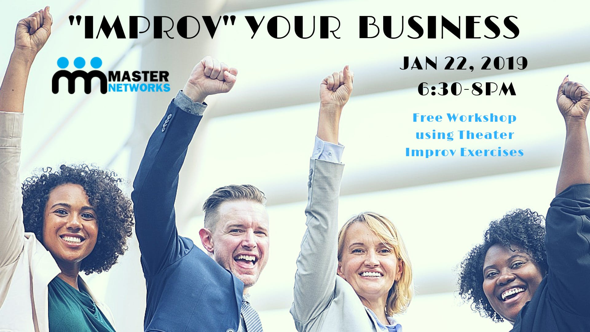 Improv Your Business - An Interactive Worksho