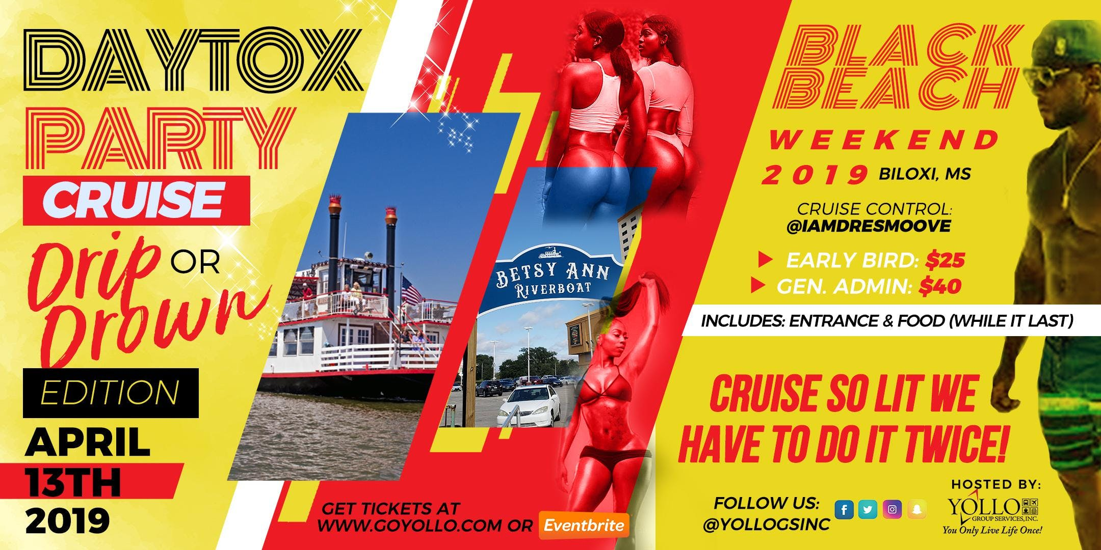 Daytox Party Cruise Black Beach Weekend 2019 13 Apr 2019