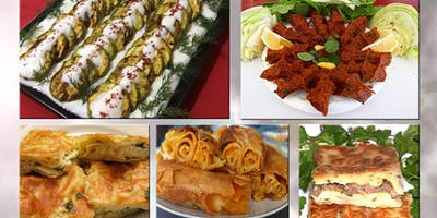 Turkish Cuisine Cooking Class January 12