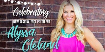 Alyssa Cleland, Region Celebration and Team Recognition