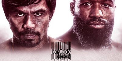 Pacquiao vs Broner @BarCode Promo Only *This Is Not A Ticket*