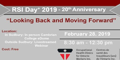 "RSI Day+ 2019 ""Looking Back and Moving Forward\"" Free Webinar"