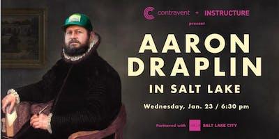 SOLD OUT: Aaron Draplin in Salt Lake
