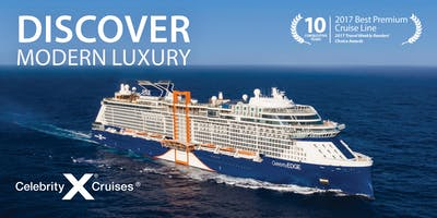 Modern Luxury Booking Event featuring Celebrity Cruises - North Vancouver and Lynn Valley
