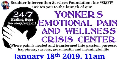 SISFI's Yonkers Suicide/Emotional Pain and Wellness Crisis Center Opening