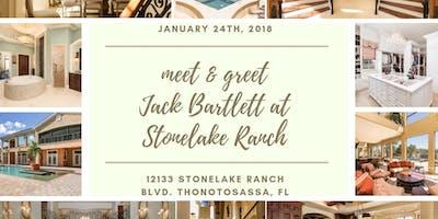 Meet and Greet Jack Bartlett in Stonelake Ranch