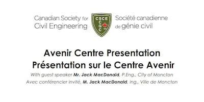 Avenir Centre Presentation - Présentation sur le Centre Avenir