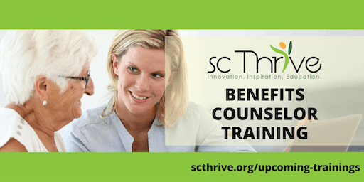 SC Thrive Benefits Counselor Training Pickens 2019