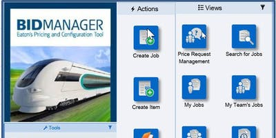 Bid Manager - Pricing & Configuration Tool