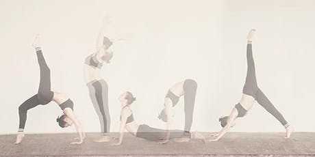 The balance of steadiness and ease in our yoga practice with Debbie Payne tickets