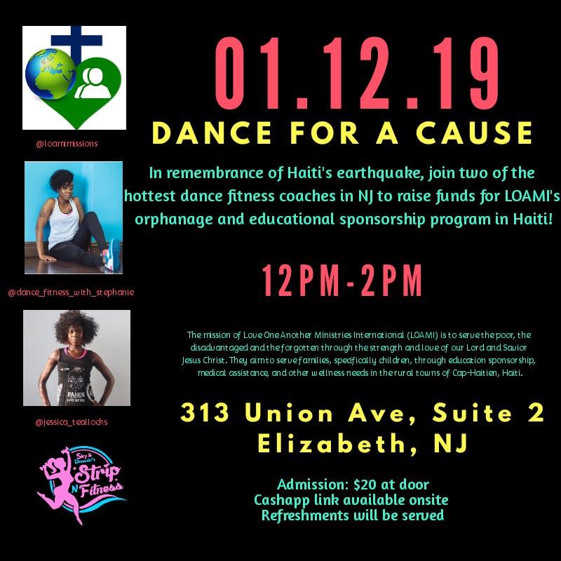 Dancing With Haitians At La Fete De >> Dance For A Cause Haiti 01 12 19 Fundraiser 12 Jan 2019