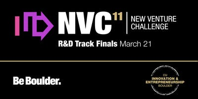 CU Boulder New Venture Challenge R & D Track Finals