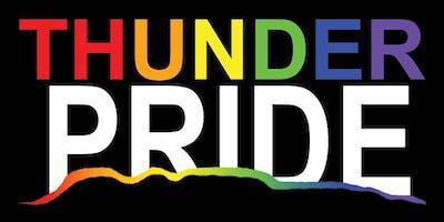 Thunder Pride Sign Making
