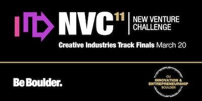 CU Boulder New Venture Challenge Creative Industries Track Finals