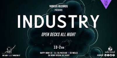 Vudeux Records presents: Industry @ The Lash