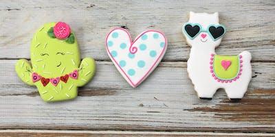 You're a Llama Fun Valentine Cookie Class