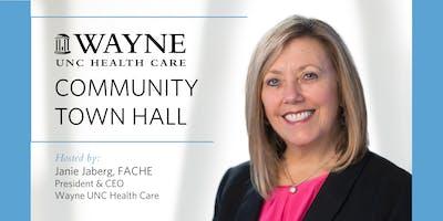 Wayne UNC Health Care Community Town Hall