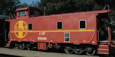 2019 Niles Canyon Railway Caboose Excursion, from Sunol tickets