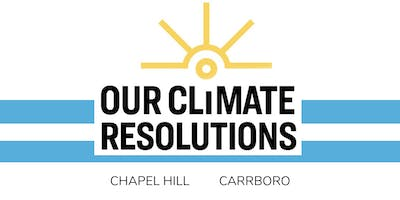 Our Climate Resolutions: Chapel Hill and Carrboro