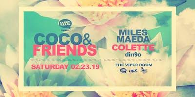 Miles Maeda, Colette & din9o at the Viper Room