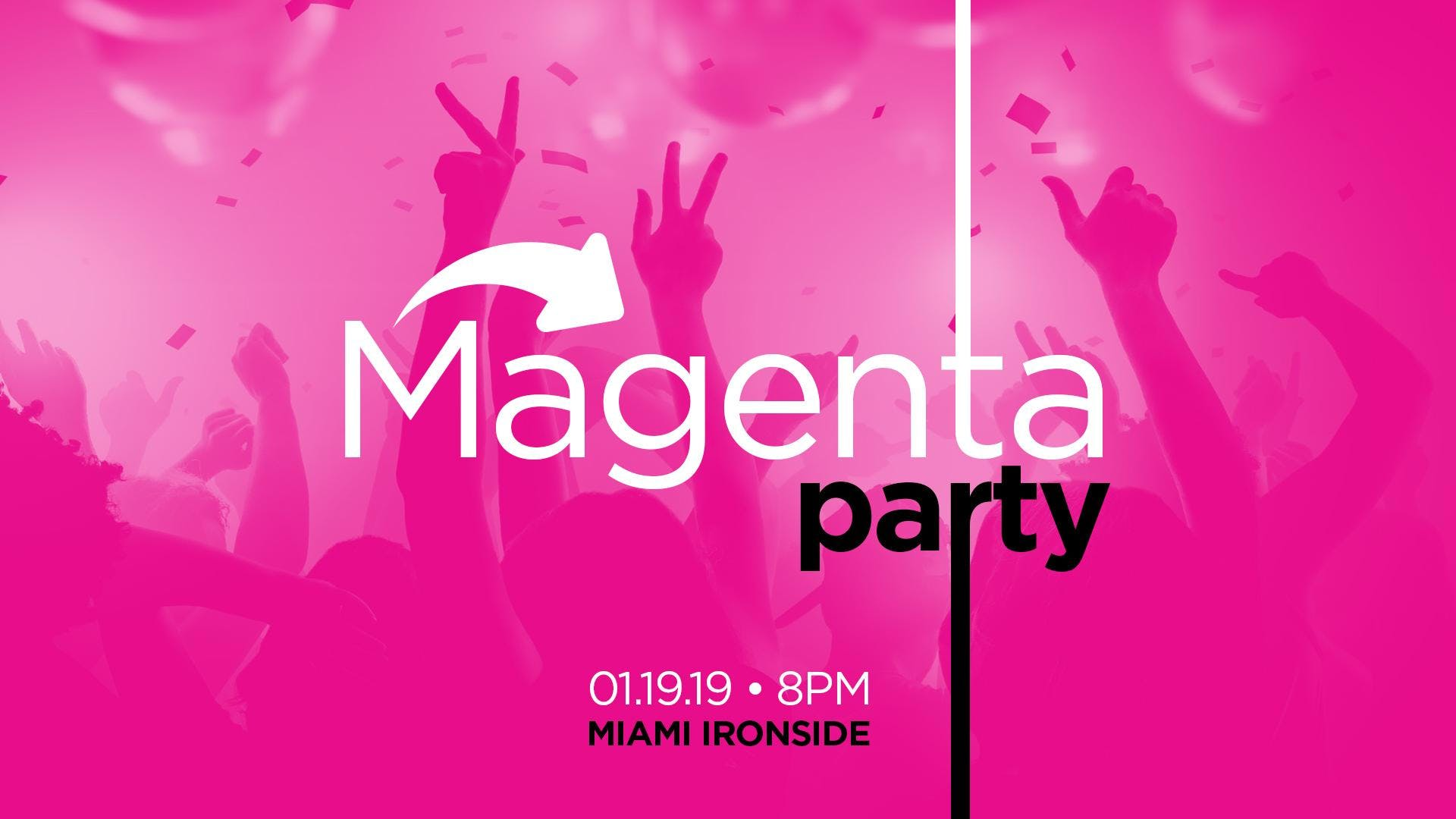 Magenta Party - Share Media's Office Launch