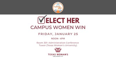 Elect Her Training at Texas Woman\