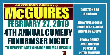 4th annual comedy show fundraiser tickets
