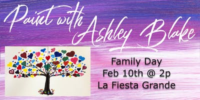 Family Paint with Ashley Blake