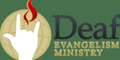 National Deaf Evangelism Ministry Conference 2019 entradas